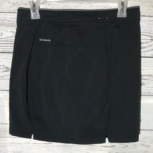 Black Columbia athletic skort